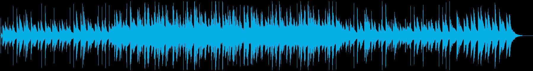 映画の場面に合うピアノエレクトロニカの再生済みの波形