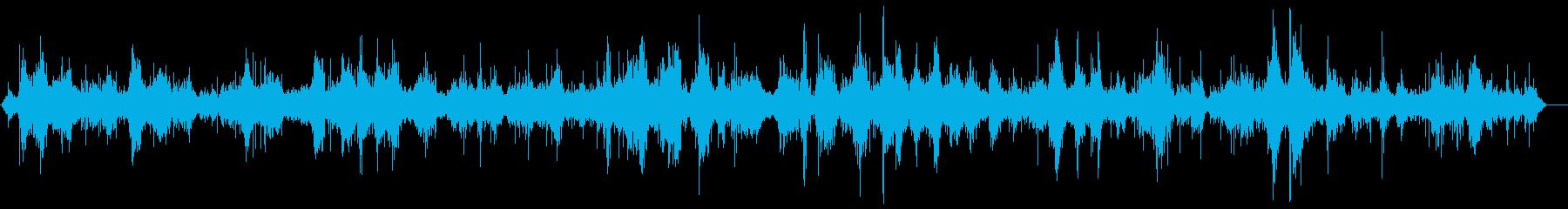 波-中-岩-活発で不規則-近いの再生済みの波形