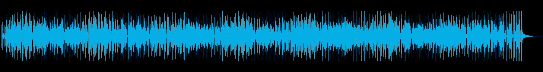 夏を感じさせるかわいいボサノバです。の再生済みの波形