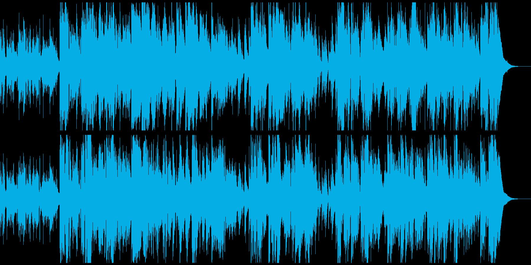 生演奏・渋い大人の雰囲気のジャズバラードの再生済みの波形
