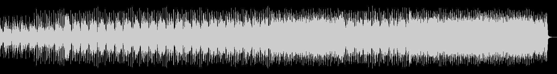 アコギとシンセのキャッチーなメロディーの未再生の波形