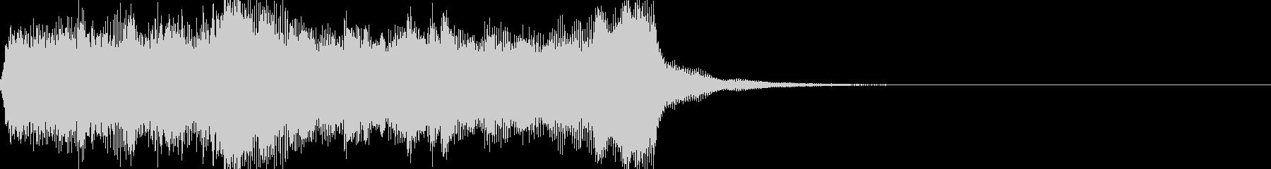 軽い/軽め/小さい ファンファーレ10の未再生の波形
