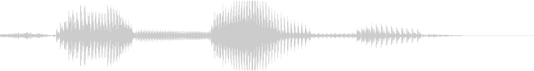 三倍満の未再生の波形