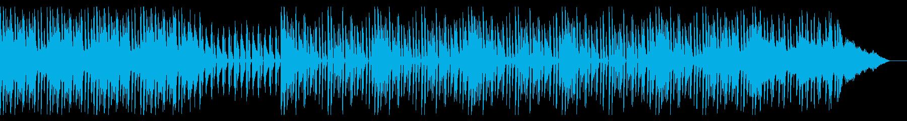 バイオリンメインのトラップミュージックの再生済みの波形