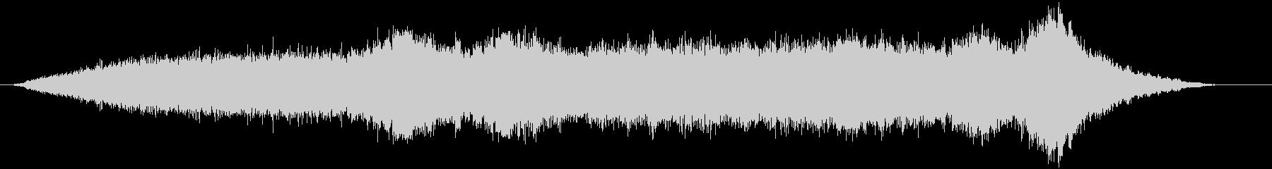 【サウンドスケイプ】インダストリアルな音の未再生の波形