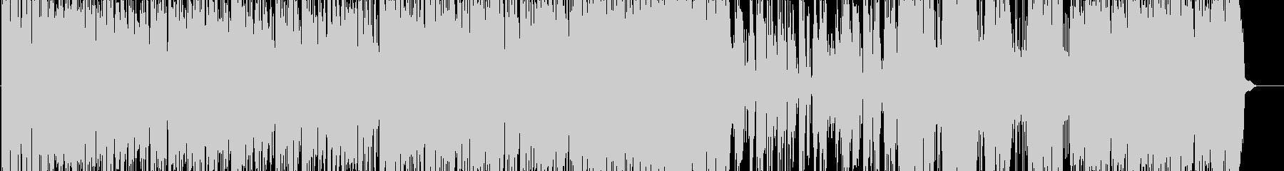 チャーリー・パーカーのピアノトリオの未再生の波形