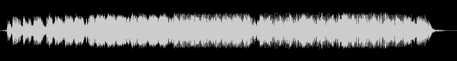 電子。エレクトリックピアノのアルペ...の未再生の波形