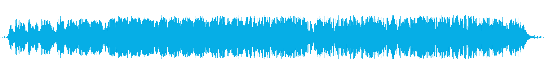 電子。エレクトリックピアノのアルペ...の再生済みの波形