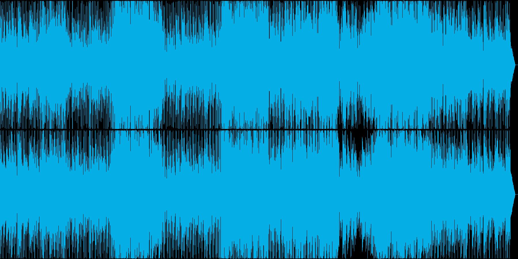 明るくもどこかノスタルジーな3拍子曲の再生済みの波形