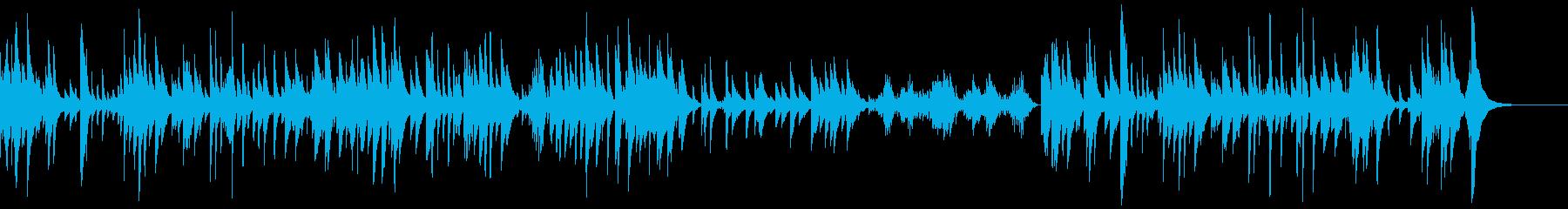 中国系の店舗BGM、ピパ独奏、上機嫌の再生済みの波形