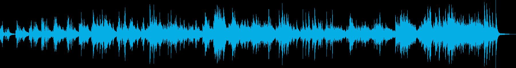 小さな幸せ(ピアノ・落ち着く・BGM)の再生済みの波形