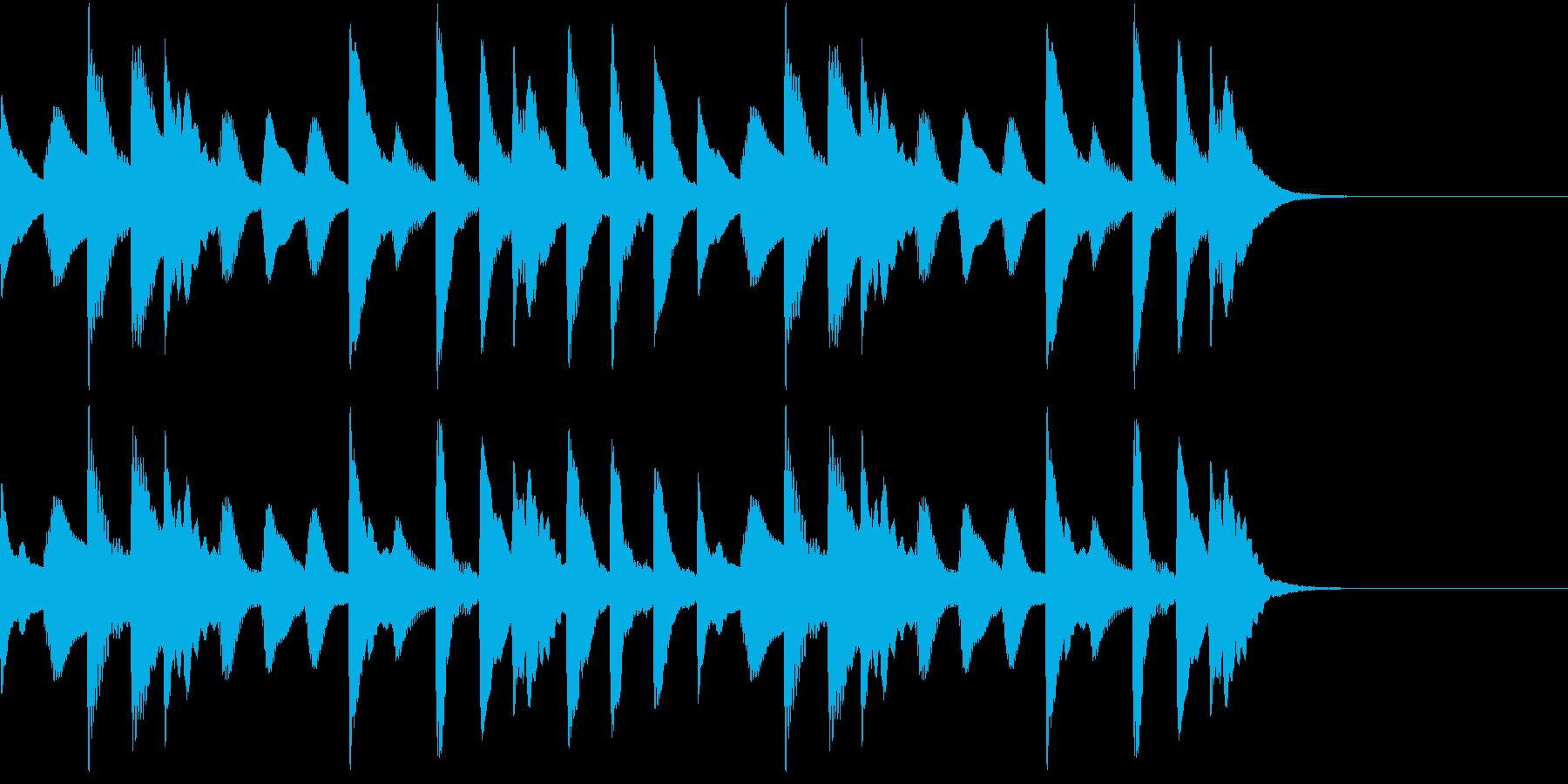 ほのぼのした日常 マリンバショートverの再生済みの波形