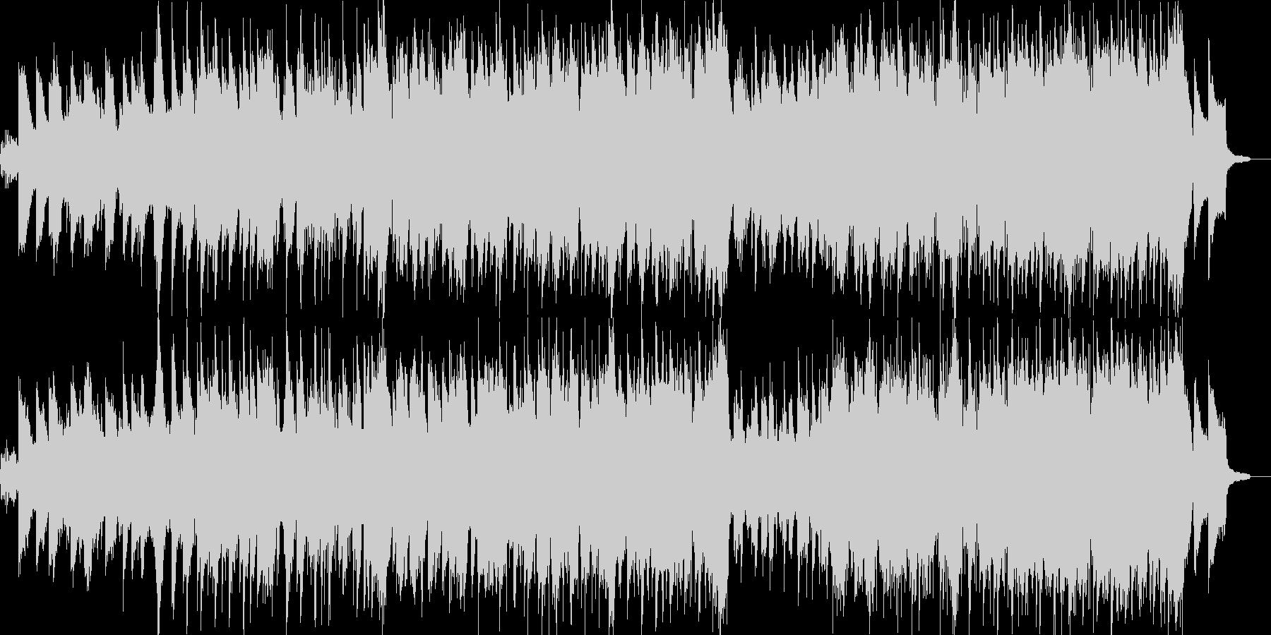 笛とピアノの古風なニューエイジ音楽の未再生の波形