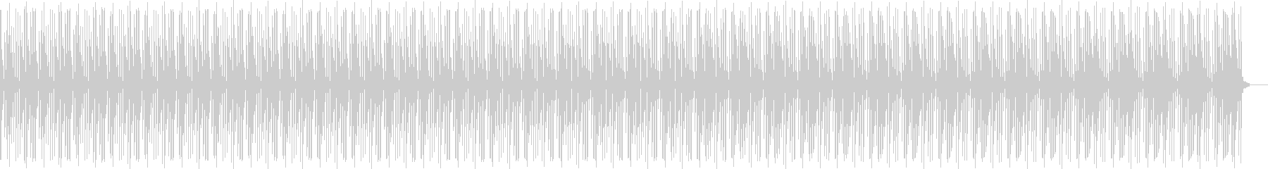 サンバ(電子ドラム)の未再生の波形