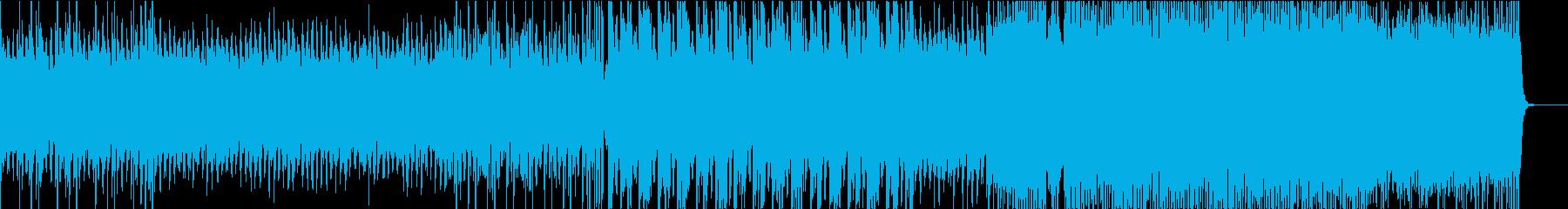 幻想的なアンビエント・切ない透明感VPの再生済みの波形