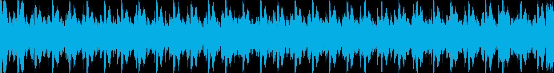 【ループC】クールなテクノトラックの再生済みの波形
