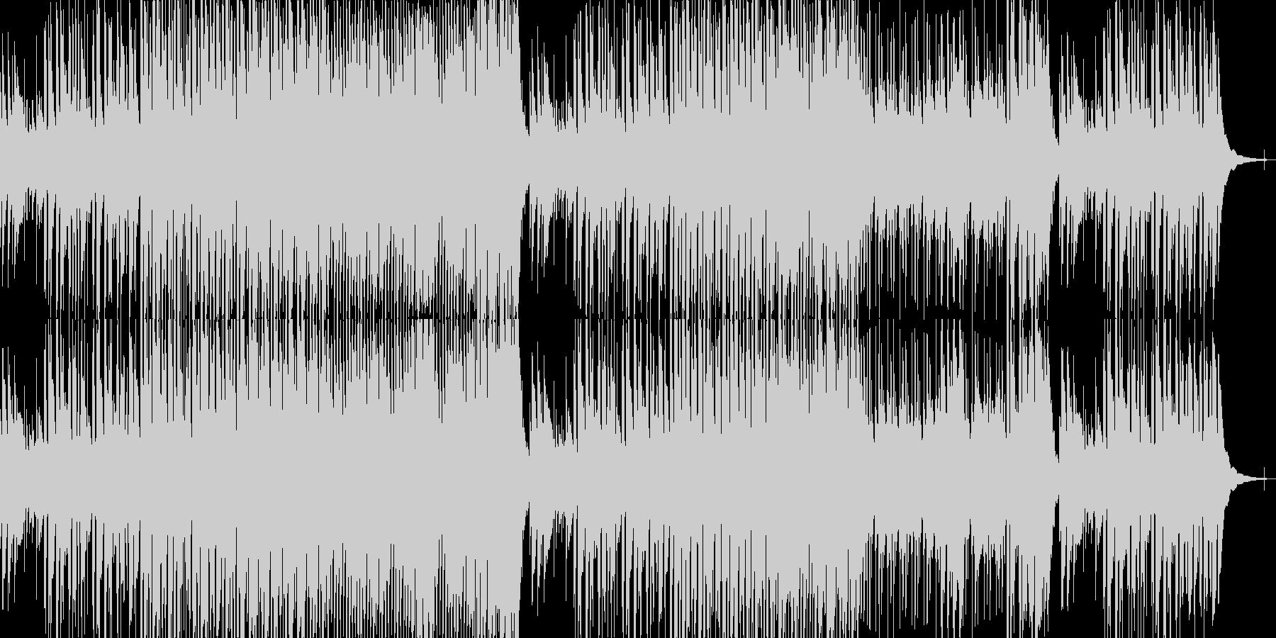 まったり穏やか口笛アコースティックの未再生の波形