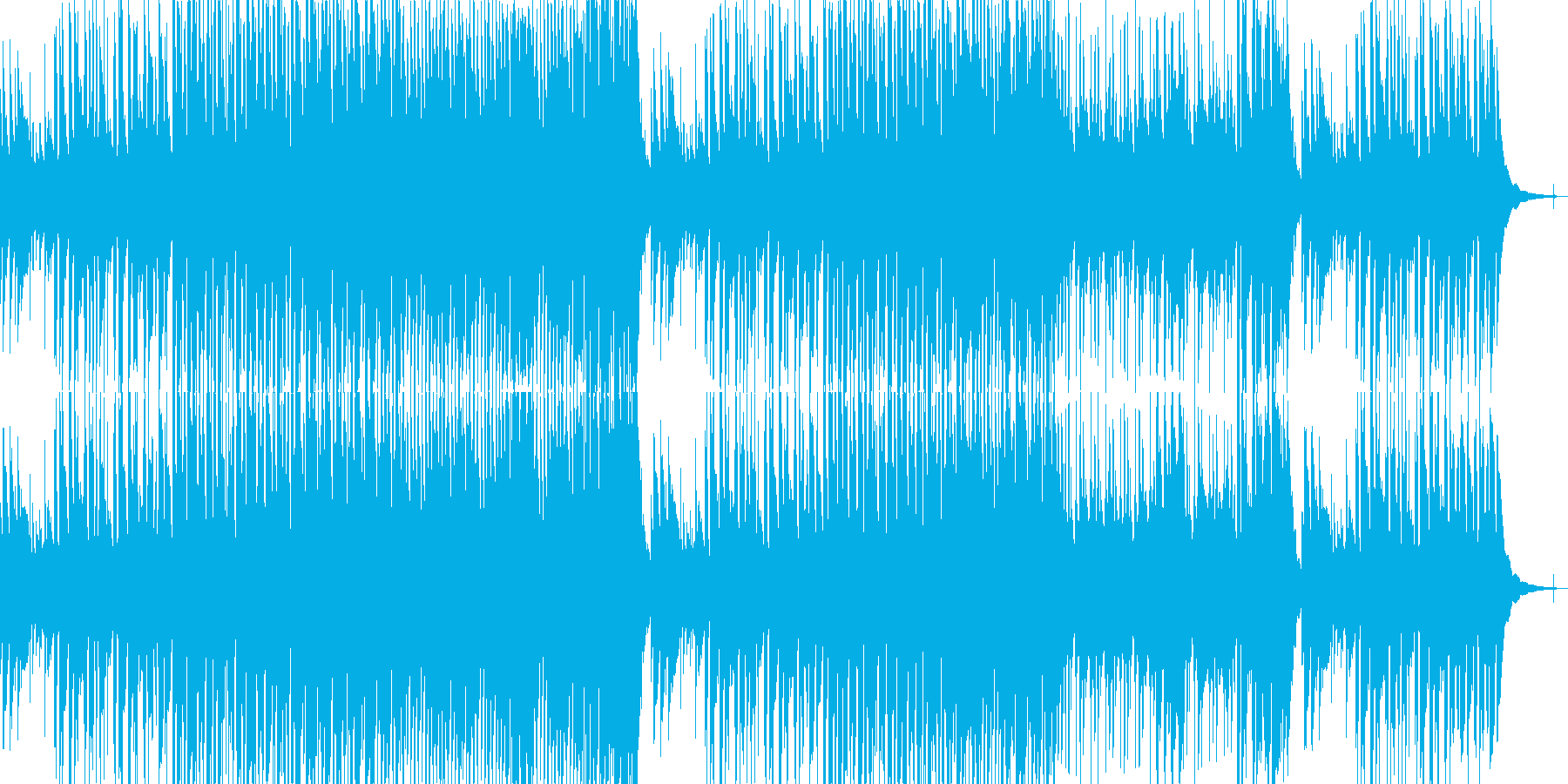 まったり穏やか口笛アコースティックの再生済みの波形