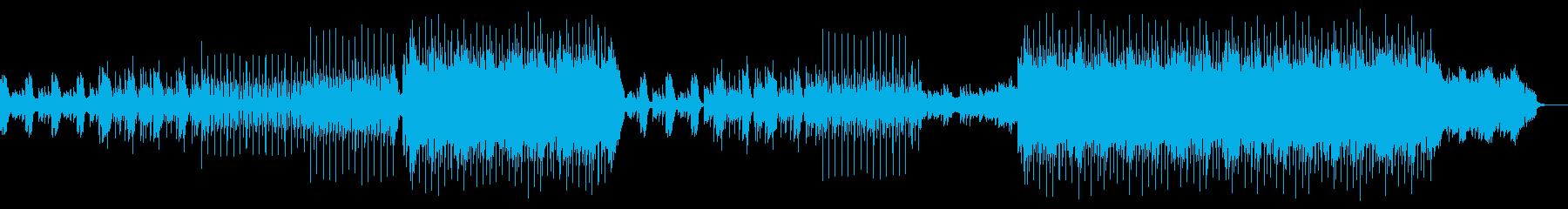 洋楽ポップス1(No Vocal)の再生済みの波形