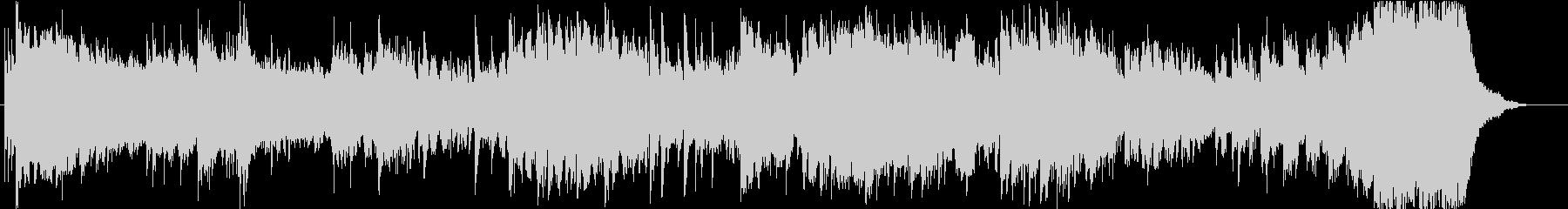 サスペンス用 短いBGMの未再生の波形