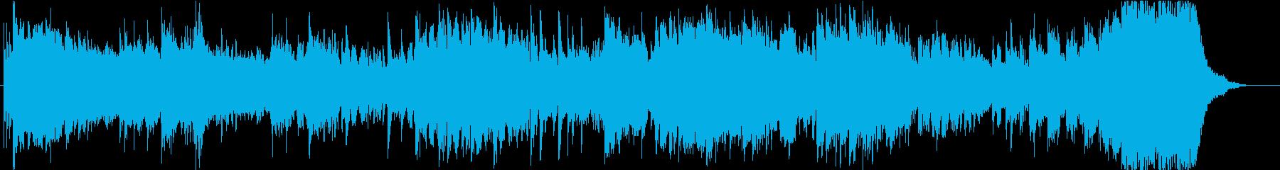 サスペンス用 短いBGMの再生済みの波形