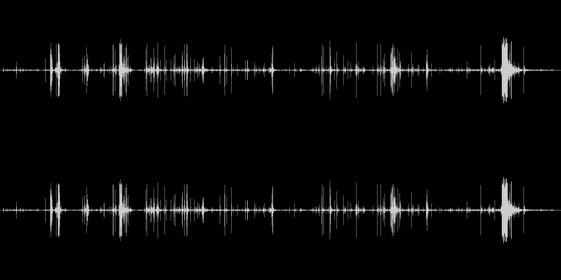 木 スプリンターロー07の未再生の波形