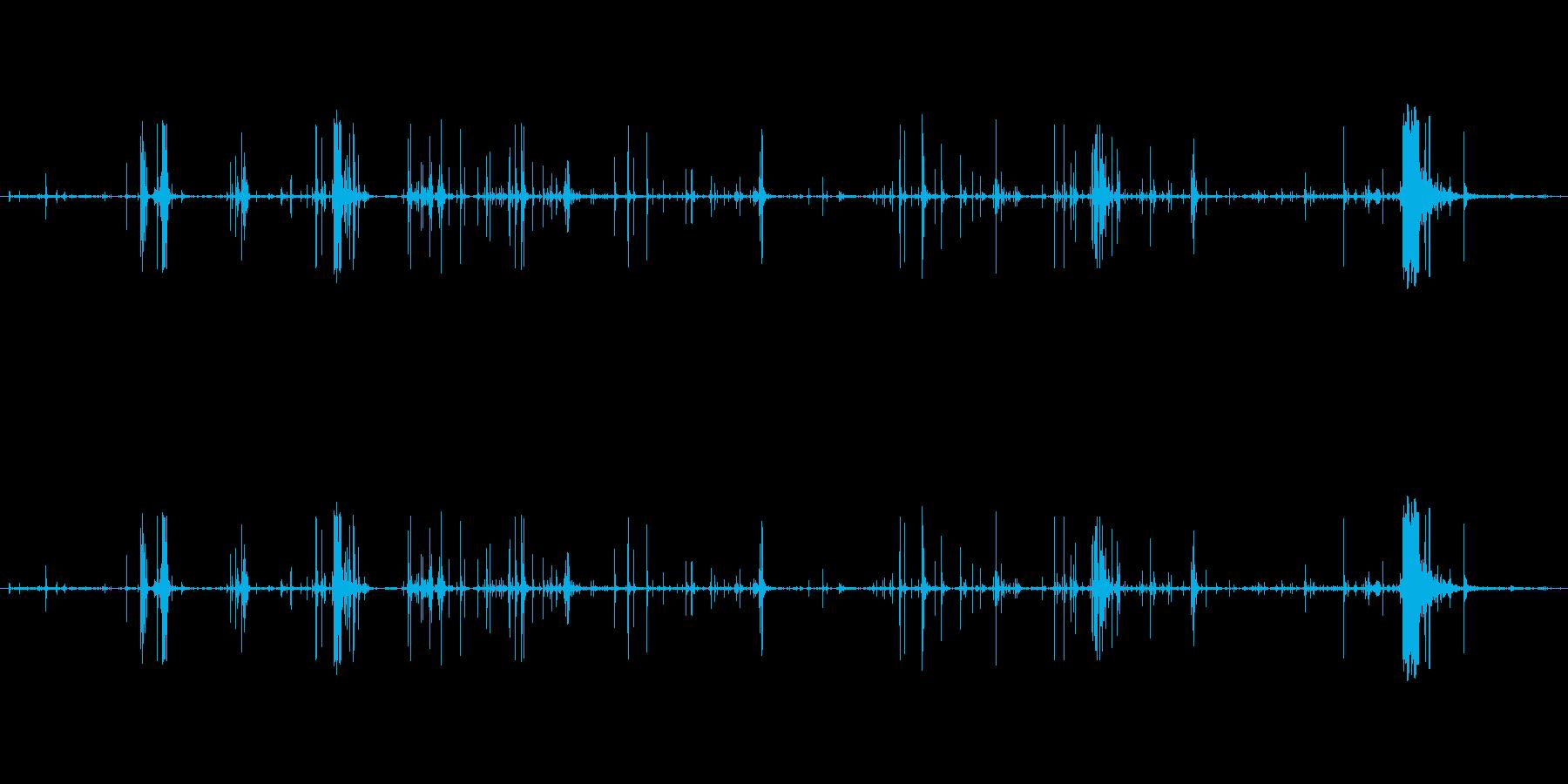 木 スプリンターロー07の再生済みの波形