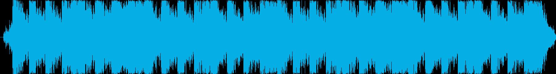 緊迫感満載のオーケストレーションの再生済みの波形