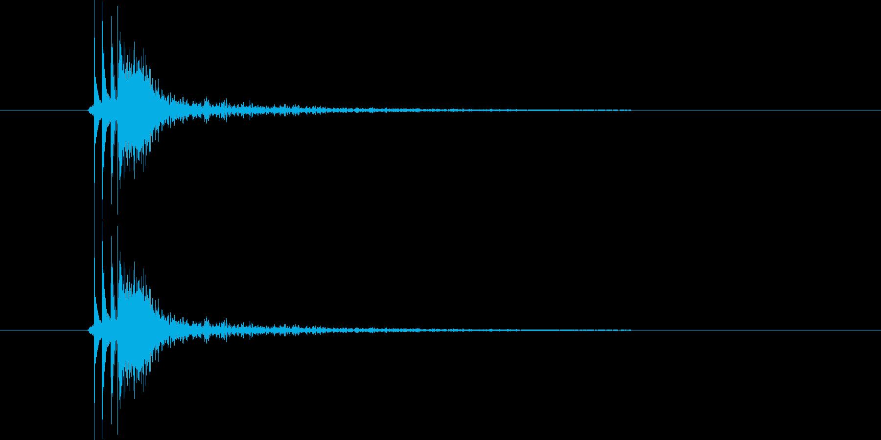 パン 一丁締め(関東一本締め)の再生済みの波形