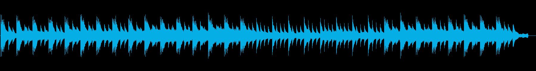 しっとり美しいピアノと弦(ストリングス)の再生済みの波形