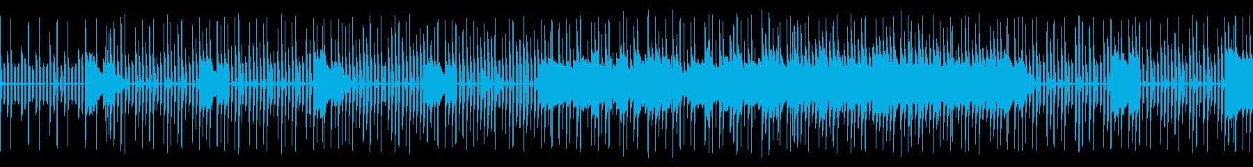 のどかでかわいい、わくわく日常系BGMの再生済みの波形
