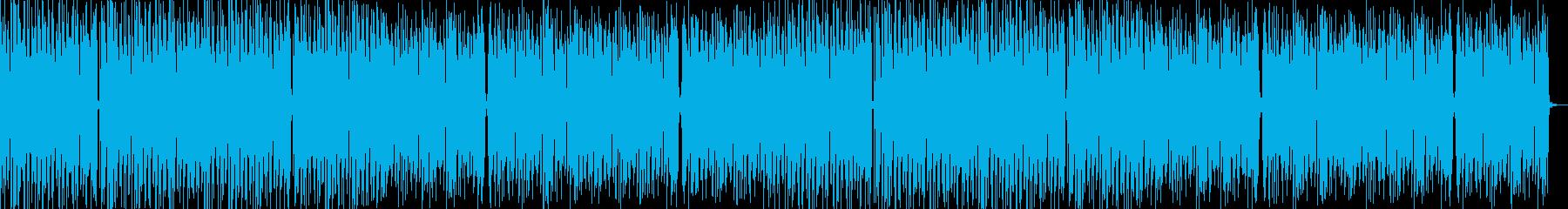 キラキラ優しい夏のフューチャーベースの再生済みの波形