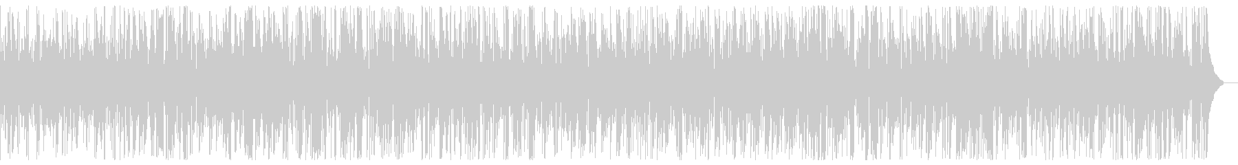 Fast cool fashionable jazz piano BGM's unreproduced waveform