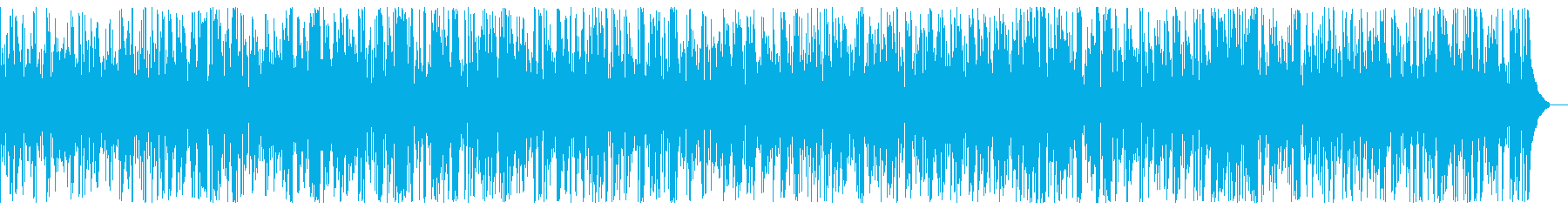 Fast cool fashionable jazz piano BGM's reproduced waveform