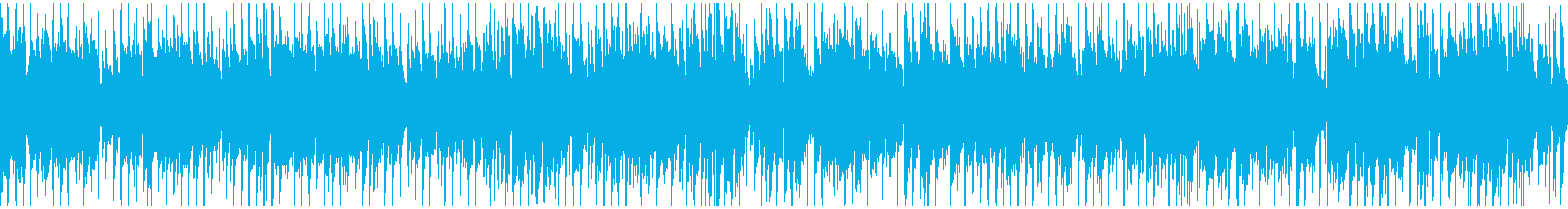 爽やかお洒落なクラブジャズ ※ループ版の再生済みの波形