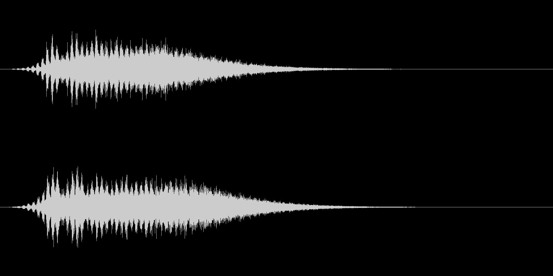 Dark_Attack-12の未再生の波形