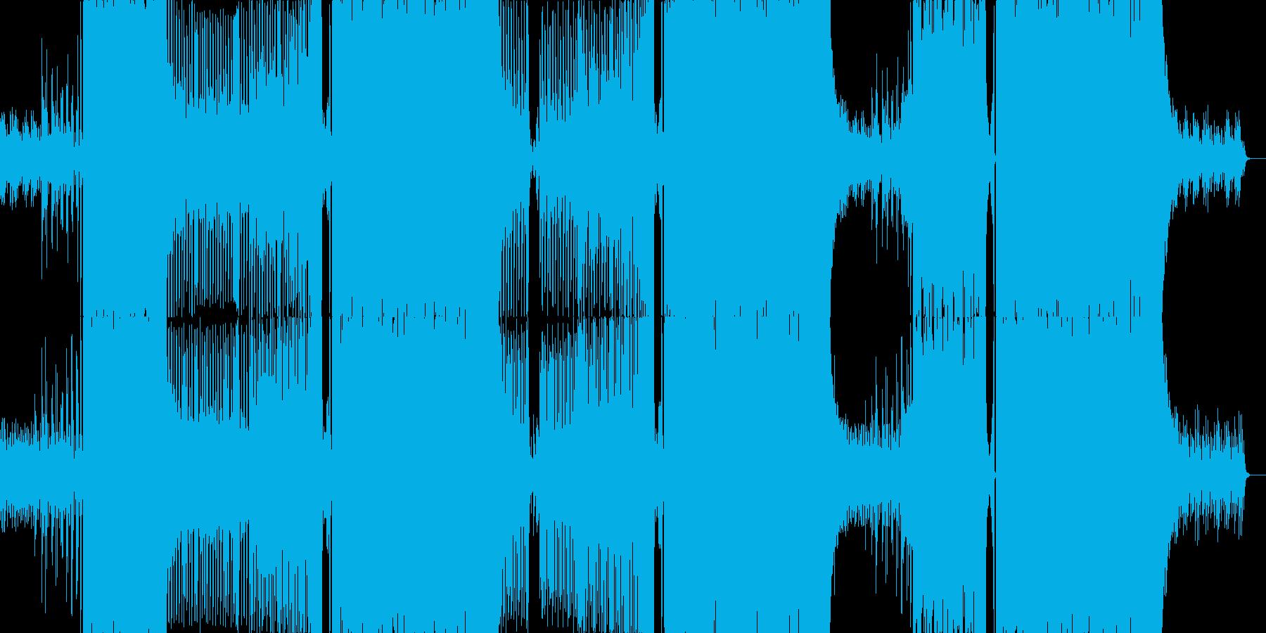 クラブ系で盛り上がる爽やかなEDMの再生済みの波形