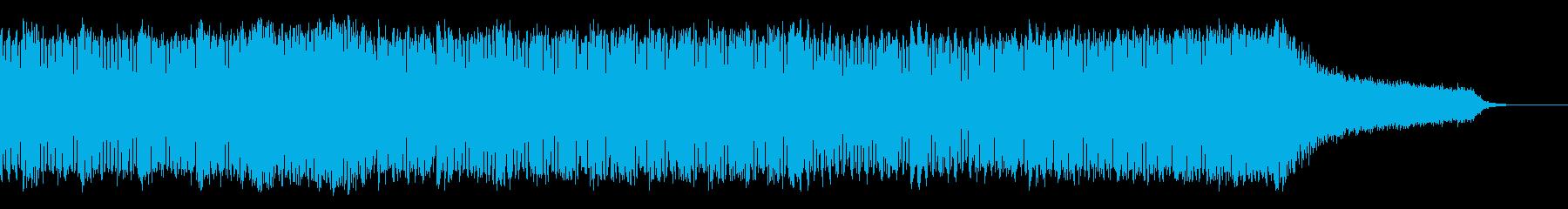 音ハメ動画にぴったりなファンキーサウンドの再生済みの波形