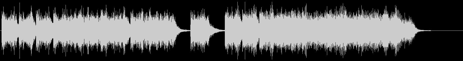 ピコピコとしたゲームのレベルアップ効果音の未再生の波形
