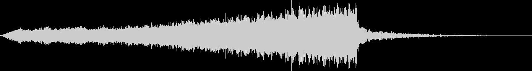 CINEMATIC RISER_24の未再生の波形