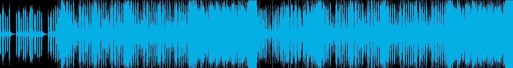 緊迫感&疾走感のあるBGM/ループ可能の再生済みの波形