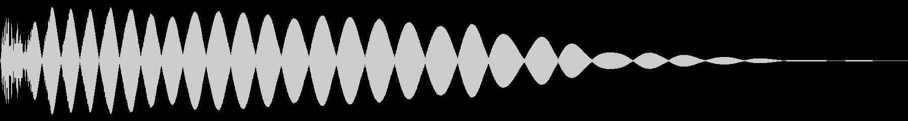EDMやIDM系のバスドラム!05bの未再生の波形