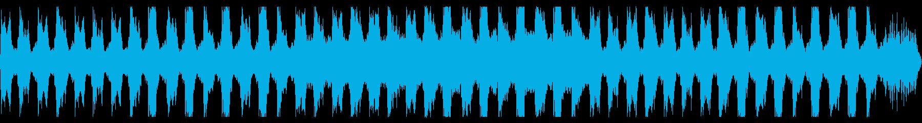 おどろおどろしい行進曲(ループ可)の再生済みの波形