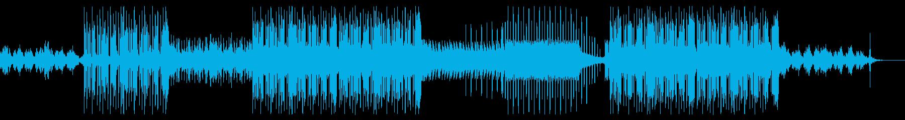 K-POP/Disco/アップテンポ曲の再生済みの波形