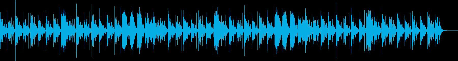 エレクトリックピアノによる温かいサウンドの再生済みの波形