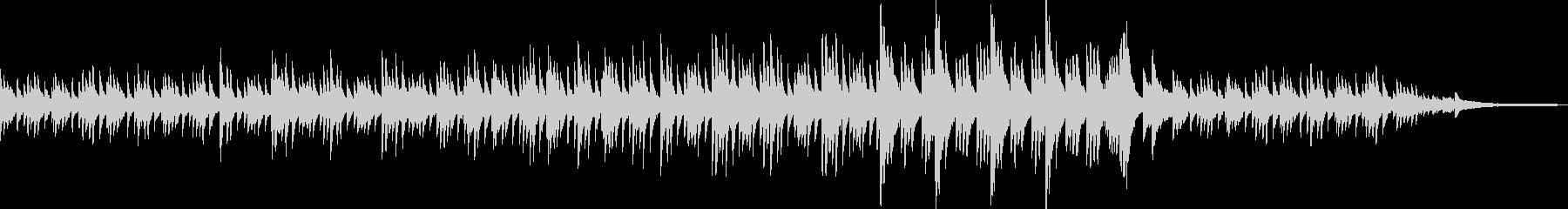 透明感のあるピアノソロBGM_02の未再生の波形