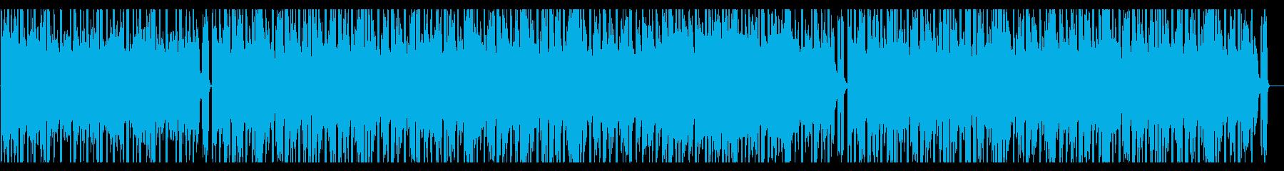 レトロな夜空を感じるBGMの再生済みの波形