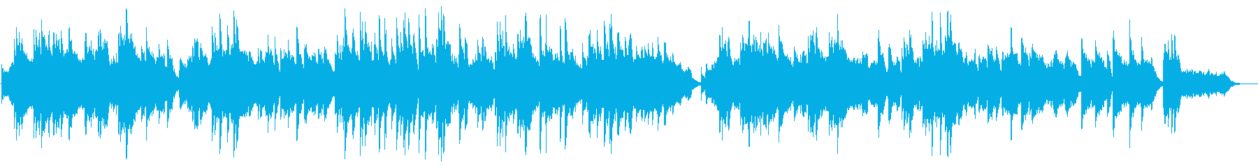 Romantic piano songs's reproduced waveform