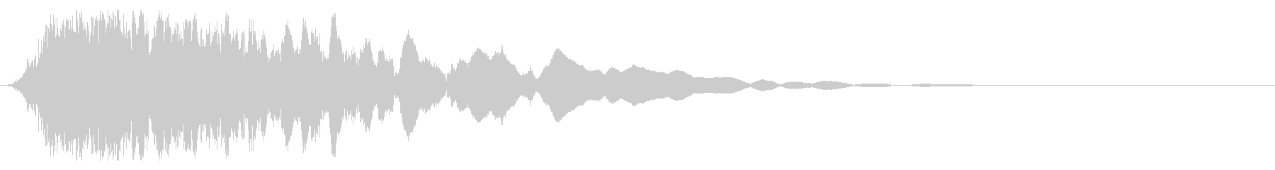 刀や剣 抜刀 斬撃の効果音 11bの未再生の波形