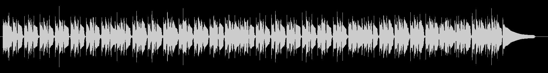 使いやすいファンク ドラム無し版の未再生の波形
